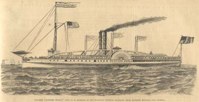 Steamer &quot;Western World&quot;