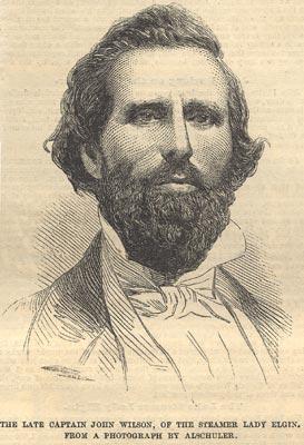 The late Captain John Wilson, of the steamer LADY ELGIN