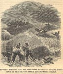 Edward Spencer and his associates gallantly risking their lives