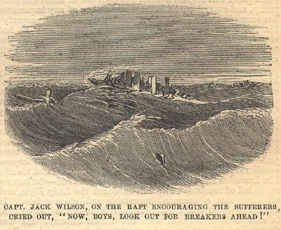 Captain Jack Wilson, on the raft