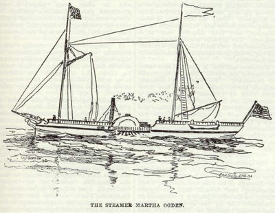 The Steamer Martha Ogden