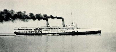 The CHICORA on Lake Ontario