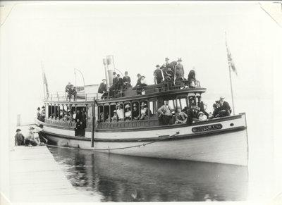 The steamer LILLIE in Burlington Bay