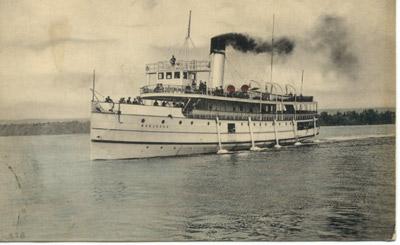 The steamer MODJESKA in Hamilton Harbour