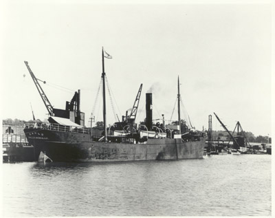Tramp steamer CARLO
