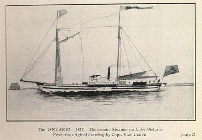 The ONTARIO. 1817