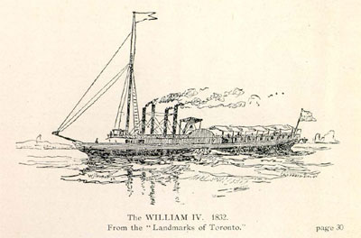 The WILLIAM IV. 1832.