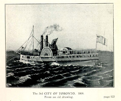 The CITY OF TORONTO. 1864.