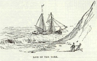 Loss of the York