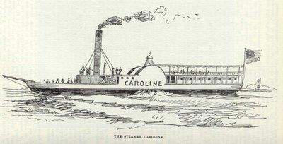 The Steamer Caroline