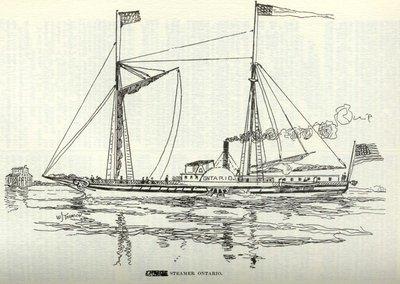 Steamer Ontario