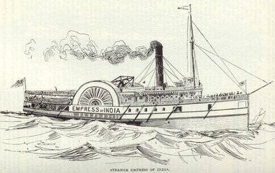 Steamer Empress of India