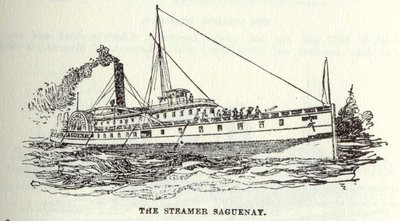 The Steamer Saguenay