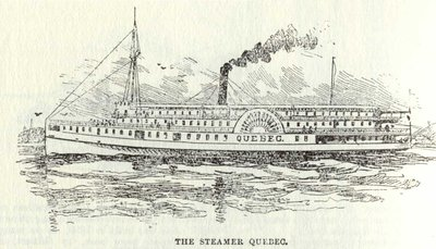 The Steamer Quebec