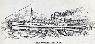 The Steamer Magnet