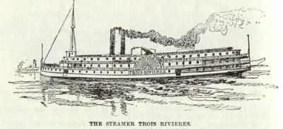 The Steamer Trois Rivieres
