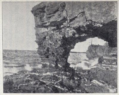 Arch Rock, Presque Isle