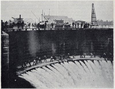 Filling American Lock -- Sault Ste. Marie