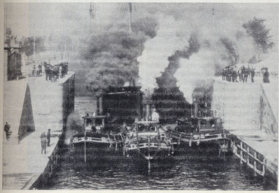 Scene at the American Canal