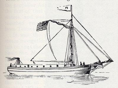 The First Screw Steamer, Propeller Vandalia