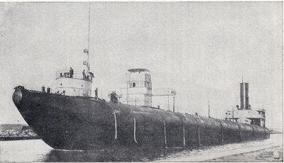 Steel whaleback steamer John Ericsson.