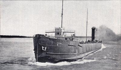 Steel steamer Victory