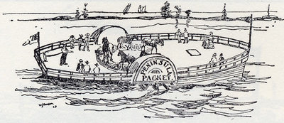 The second Ferry Horse Boat