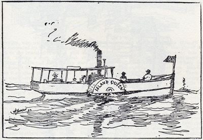 The fourth (steam) ferry