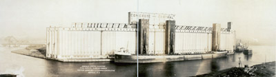 Concrete - central elevators, total capacity 4,500,000 bushels, Eastern Grain, Mill & Elevator Corporation, Buffalo, N.Y.