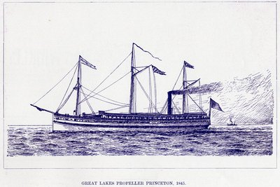 Great Lakes Propeller PRINCETON, 1845