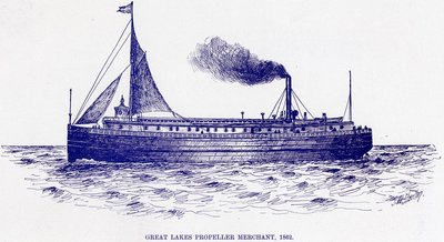 Great Lakes Propeller MERCHANT, 1862