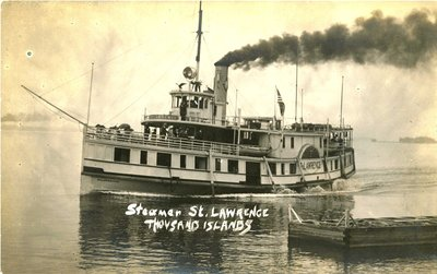 Steamer ST. LAWRENCE, Thousand Islands