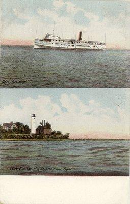 Str. Arundel / Cape Vincent, N. Y., Tibbetts Point Light