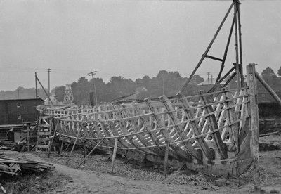 Port Dover shipbuilding, 1920