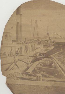 Tugs in drydock