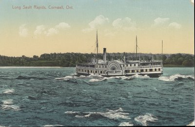 Long Sault Rapids, Cornwall, Ont.