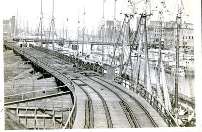 Oswego harbor, 1870s