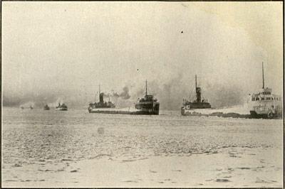 Down Bound on their Last Trip -- December 1919