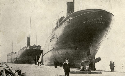 NOTTINGHAM and SMITH ashore at Buffalo