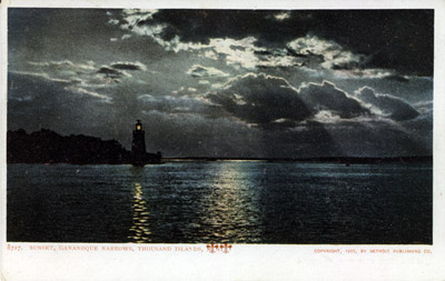 Sunset, Gananoque Narrows, Thousand Islands