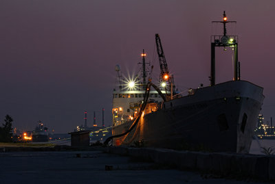 Stephen B. Roman; unloading at ESSROC