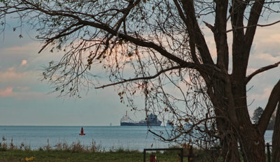 Lake St Clair shipping traffic
