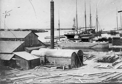 Miller Shipyard at Oswego