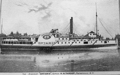 "The Steamer ""Ontario"""