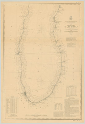 South End of Lake Michigan, 1876