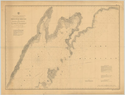 North End of Green Bay, 1864