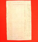 Joseph Bailly, Manifest, 21 Jul 1816