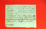 Boat, John Campbell, Manifest, 7 Oct 1816