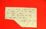Canoe, Geo. McGulpin, Manifest, 15 Oct 1816