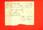 Barge, Joseph Nemonvell, Manifest, 14 Oct 1816